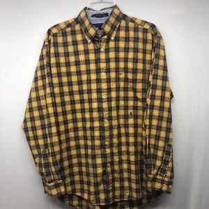 tommy-hilfiger-yellow-button-down-long-sleeve